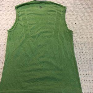 Men's Lululemon Lime Green Tank